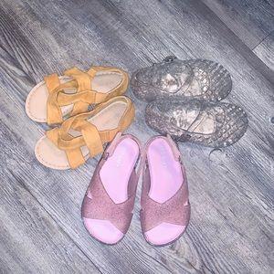 Girls sandal bundle